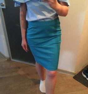 Новая! Шикарная юбка-карандаш из H&M