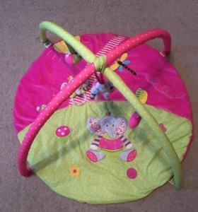 Развивающий коврик и дуга на коляску или кроватку