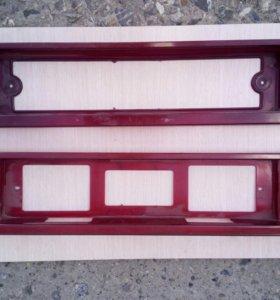 Рамки под задний номер ваз 2108-21099