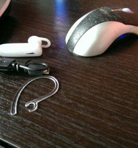Беспроводная блютуз гарнитура Bluetooth