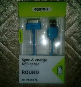USB кабель на 4S