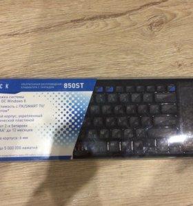 Ультратонкая беспроводная клавиатура с тачпадом,