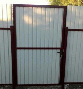 Забор под ключ