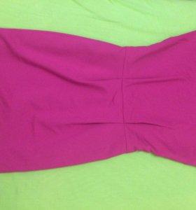 Розовое платье MOHITO