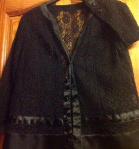 Пиджак гипюровый