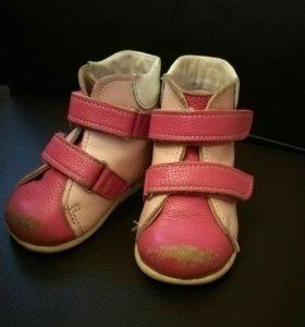2 пары обуви на девочку