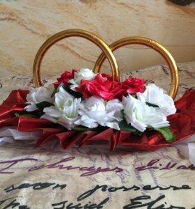 АРЕНДА. Свадебные украшения на автомобиль