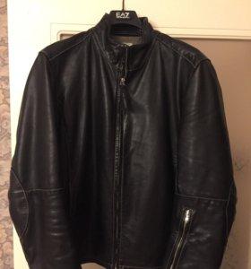Кожаная куртка C. P. COMPANY