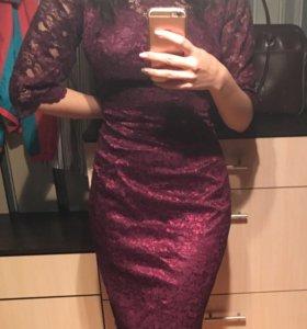 Гипюровое платье,46 р
