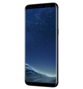 Новый Samsung s8 чёрный запакованный