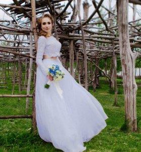 Свадебно неповторимое платье