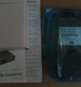 Медиаконвертер dlink DMC-515SC