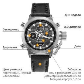 Часы Мужские стильные, армейские AMST 3003