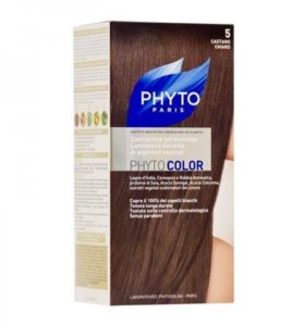 Краска для волос Phyto Color 5, св.шатен (Франция)