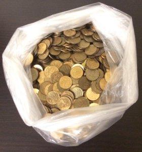 Монеты 10 копеек (2000 шт.)