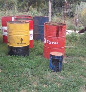 Бочки металлические 200-220 литров
