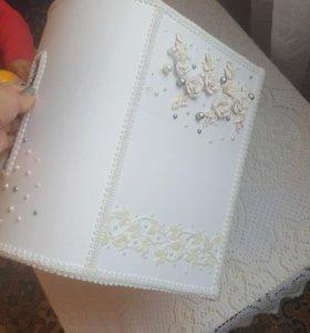 Сундук для подарков на свадьбу