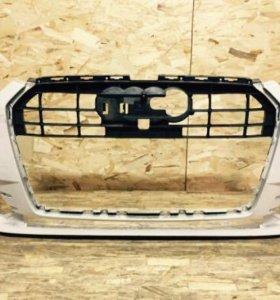 Передний бампер Audi A6 C7 рестайлинг