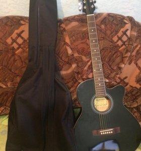 Гитара Martinez W-91C BK + чехол