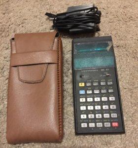 Раритетный калькулятор МК-61