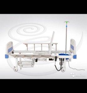 Кровать электрическая с туалетным устройством