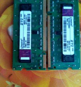 DDR2 SO-DIMM 600 мГЦ 1Gb