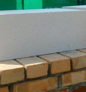 Блоки грас газобетонные, инструменты, клей
