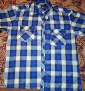 Рубашки мужские большой размер