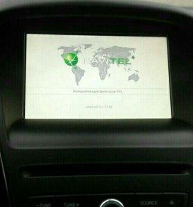 Активация навигации на автомбилях ФОРД с Sync2