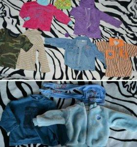 Пакет одежды 74-86 см