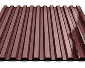 Профнастил С-21 шоколад длина 7,5м