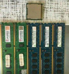 Проц.i3  .ram память ддр3