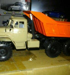 Миасский грузовик Урал-4320(конверсия в Урал-55573