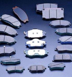 колодки тормозные для любого автомобиля