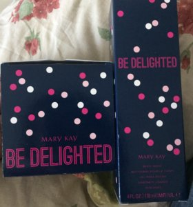 Мусс и гель для тела Be Delighted Mary Kay