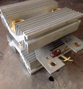 Теристор т133-400 с охладителем силовых приборов