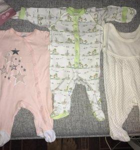 Вещи на ребёнка 56-62 см