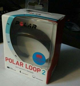 Фитнес трекер (часы) Polar Loop 2 (новый), Чёрный