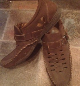Летние туфли мужские