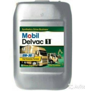 Mobil Delvac 1 LE 5w30 обьем 20л