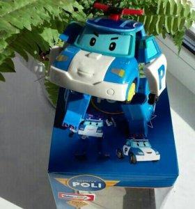 ПОЛЛИ робокар - трансформер!
