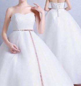 Новое свадебное платье для беременной и не только