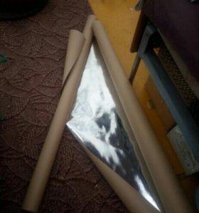 Фольгированная крафт бумага для бани