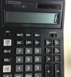 калькулятор Citizen новый бухгалтерский