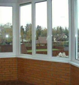 Окна, двери, балконные блоки из ПВХ и алюминия .