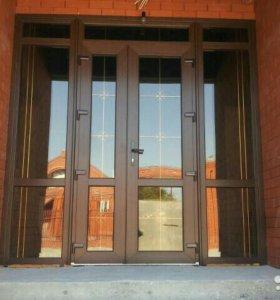 Окна,двери, ПВХ