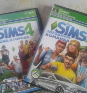 Диски The sims 4