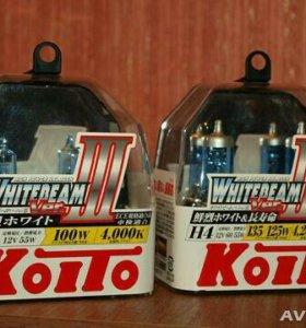 Высокотемпературные лампы Koito Whitebeam