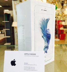 iPhone 6s 16gb Silver (Серебристый) НОВЫЙ ОРИГИНАЛ
