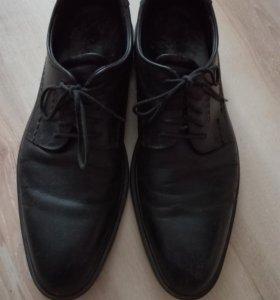 Ботинки кожа мужские 41р